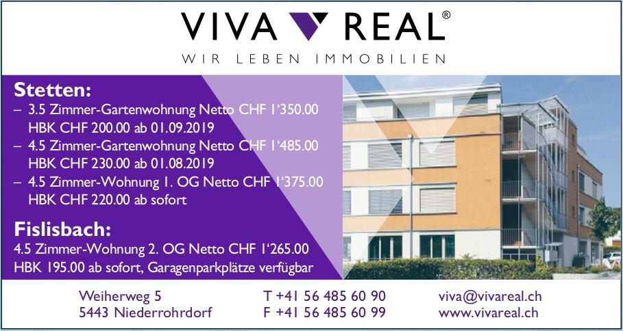 Viva Real Immobilien - Immobilien zu vermieten