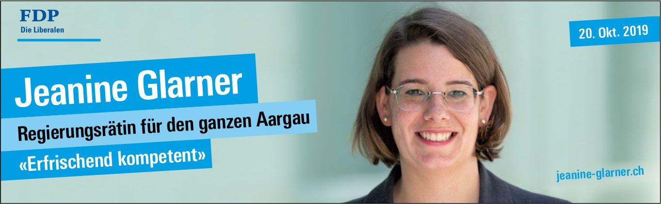 FDP - Jeanine Glarner: Regierungsrätin für den ganzen Aargau