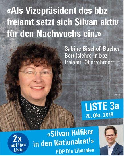 FDP - «Silvan Hilfiker in den Nationalrat!»