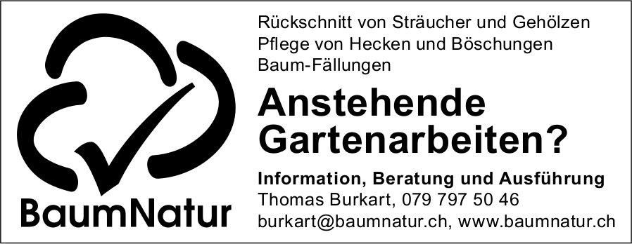 BaumNafur - Anstehende Gartenarbeiten?