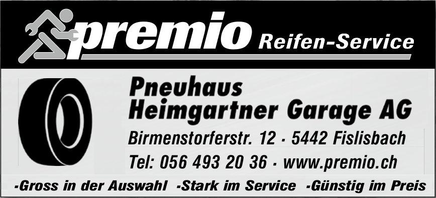 Pneuhaus Heimgartner Garage AG - Premio Reifen-Service