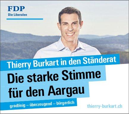 FDP - Thierry Burkart in den Ständerat