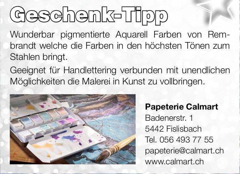 Papeterie Calmart - Geschenk-Tipp