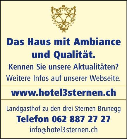 Hotel 3 Sternen - Das Haus mit Ambiance und Qualität.