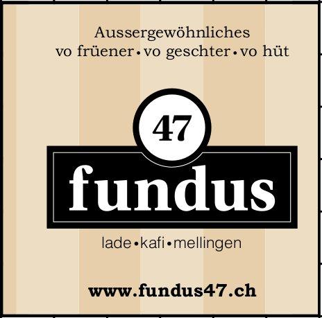Fundus 47 - Aussergewöhnliches vo früener, vo geschter, vo hüt