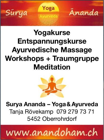 Surya Ananda – Yoga & Ayurveda