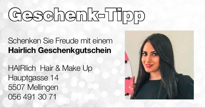 HAIRlich Hair & Make Up - Geschenk-Tipp: Schenken Sie Freude mit einem Hairlich Geschenkgutschein
