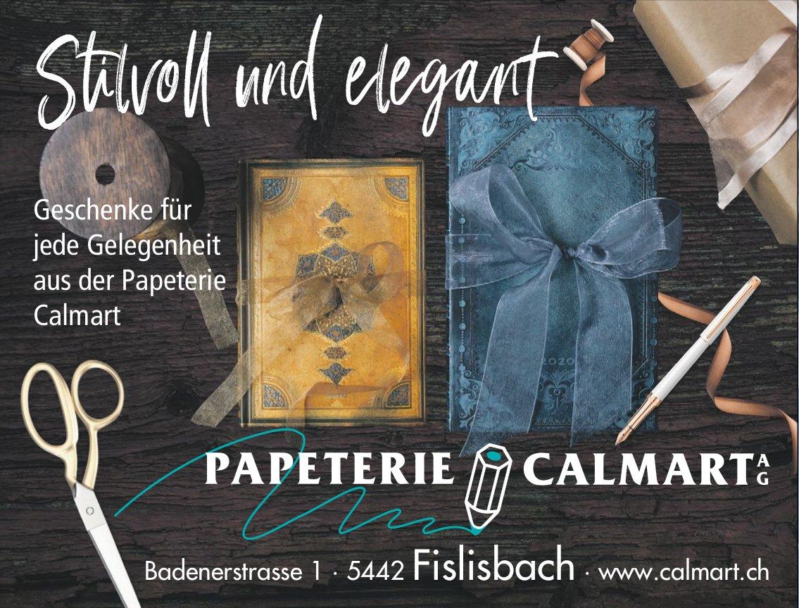 PAPETERIE CALMART AG - Stilvoll und elegant