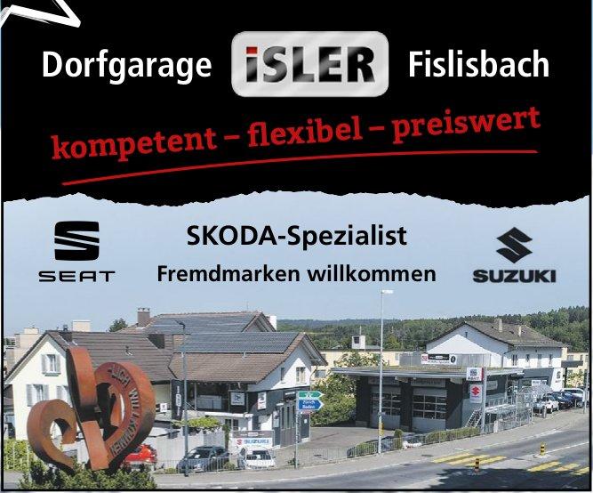 Dorfgarage ISLER Fislisbach - SKODA-Spezialist/ Fremdmarken willkommen