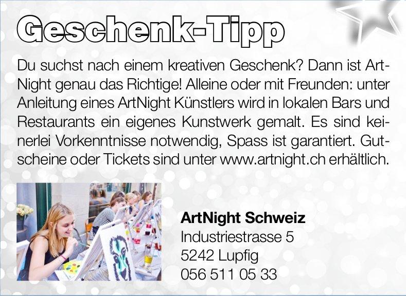 ArtNight Schweiz - Geschenk-Tipp