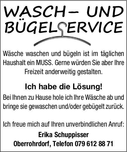 Erika Schuppisser - Wasch- und Bügelservice