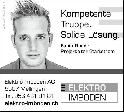 Elektro Imboden AG,  Mellingen, Elektro