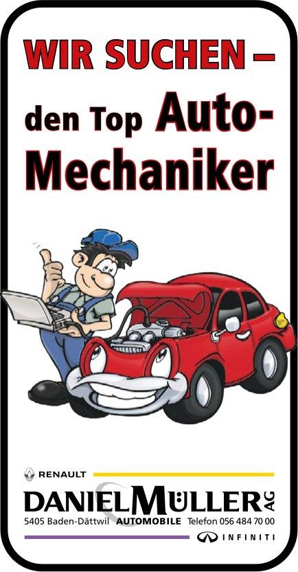 Auto-Mechaniker bei Danile Müller AG gesucht