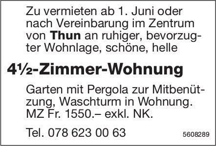 4½-Zimmer-Wohnung im Zentrum von Thun zu vermieten