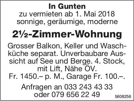 2½-Zimmer-Wohnung in Gunten zu vermieten