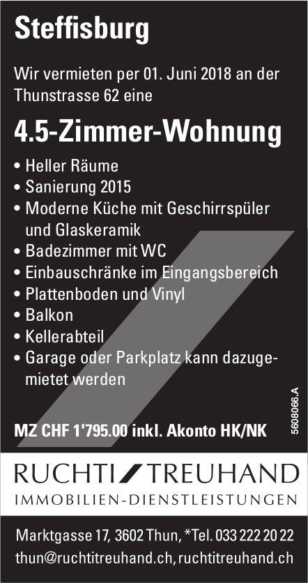 4.5-Zimmer-Wohnung in Steffisburg zu vermieten