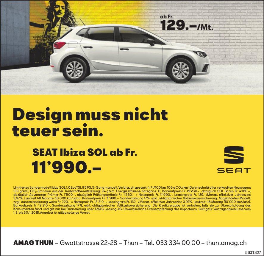 AMAG Thun - Design muss nicht teuer sein