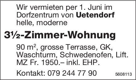 3½-Zimmer-Wohnung im Dorfzentrum von Uetendorf zu vermieten