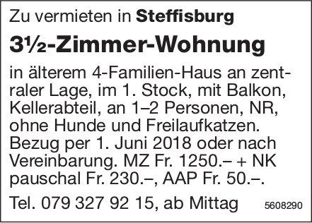 3½-Zimmer-Wohnung in Steffisburg zu vermieten