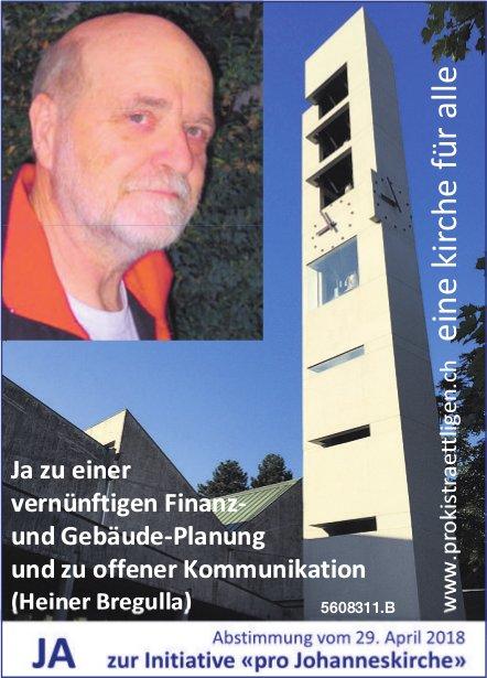 JA zur Initiative «pro Johanneskirche»