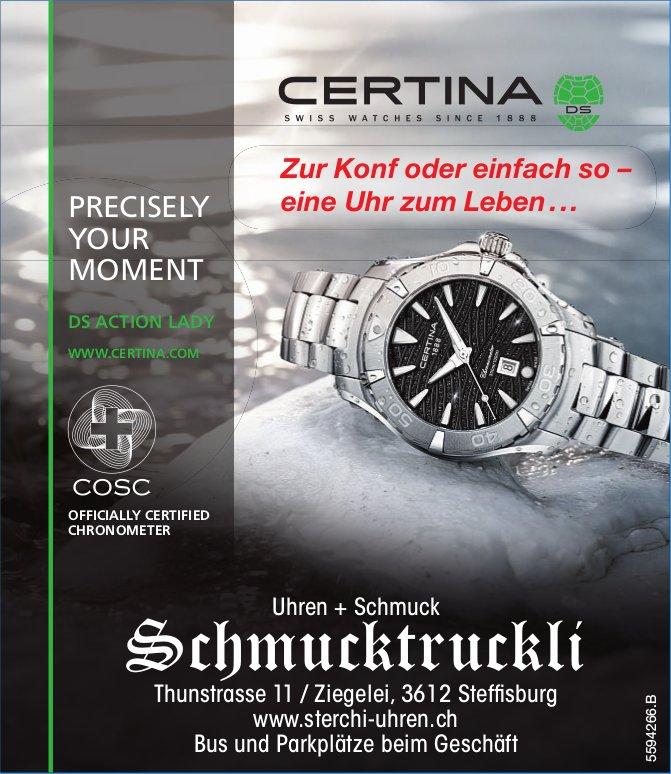 Uhren + Schmuck Schmucktruckli - Certina: Zur Konf oder einfach so, eine Uhr zum Leben...