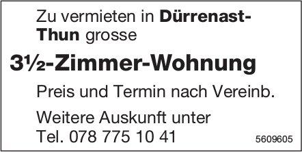 3½-Zimmer-Wohnung in Dürrenast-Thun zu vermieten