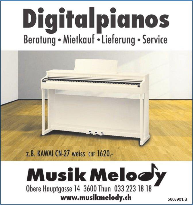 Musik Melody - Digitalpianos