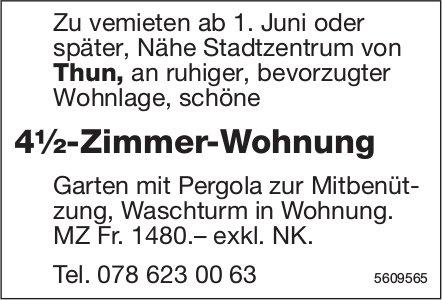 4½-zimmer-Wohnung in Nähe Stadtzentrum von Thun zu vermieten