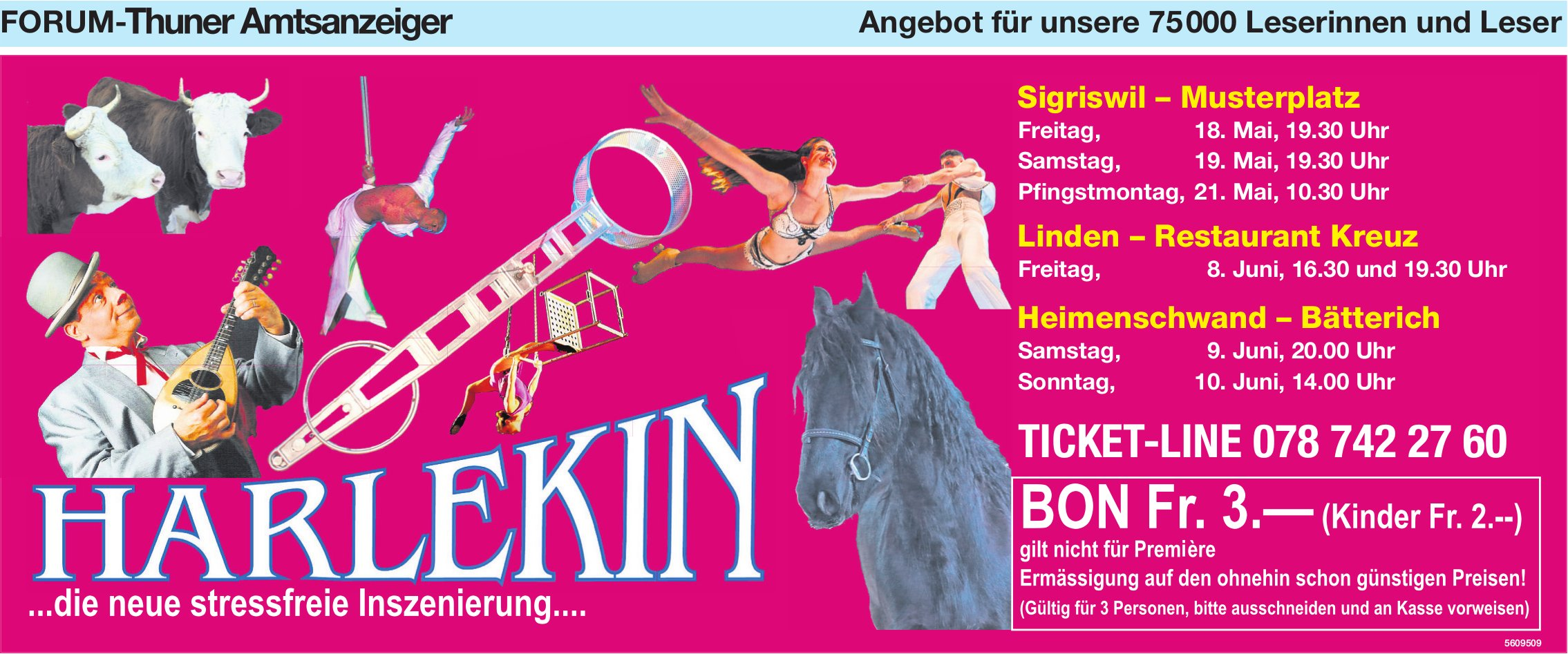Forum-Thuner Amtsanzeiger - Harlekin ... die neue stressfreie Inszenierung...