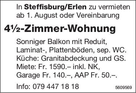 4½-zimmer-Wohnung in Steffisburg/Erlen zu vermieten
