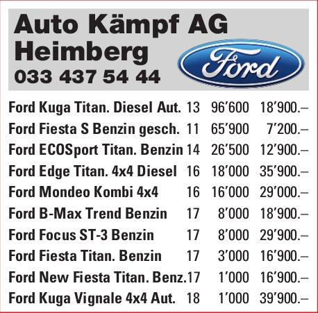 Auto Kämpf AG - Occasion-Markt