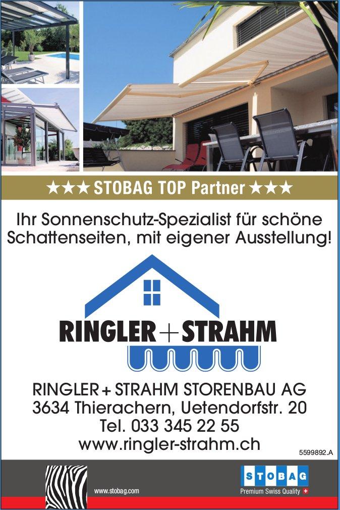 Ringler + Strahm Storenbau AG - Ihr Sonnenschutz-Spezialist