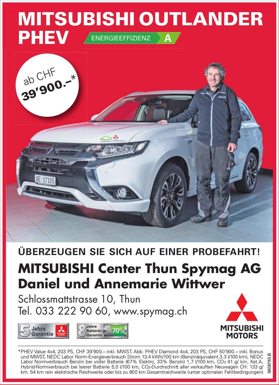 MITSUBISHI Center Thun Spymag AG - Mitsubishi Outlander PHEV