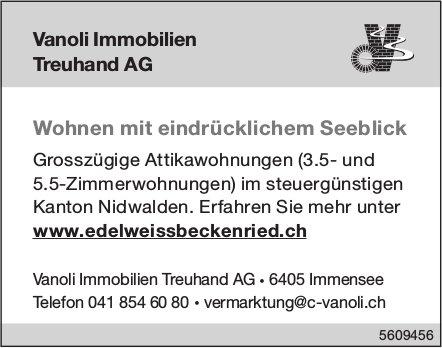 Grosszügige Attikawohnungen (3.5- und 5.5-Zimmerwohnungen) im Kanton Nidwalden