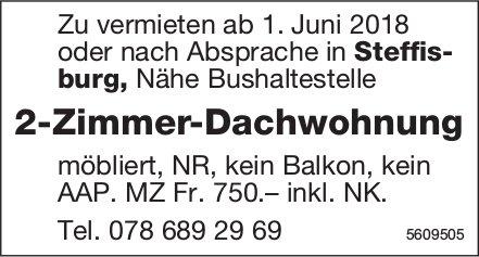 2-Zimmer-Dachwohnung in Steffisburg zu vermieten