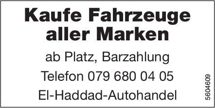 Kaufe Fahrzeuge aller Marken