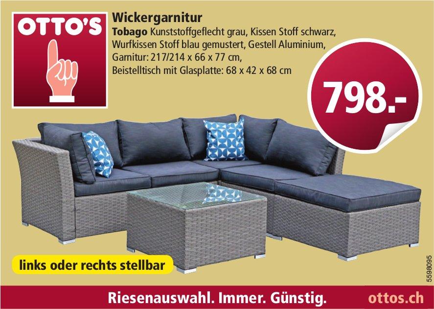 Otto's - Wickergarnitur