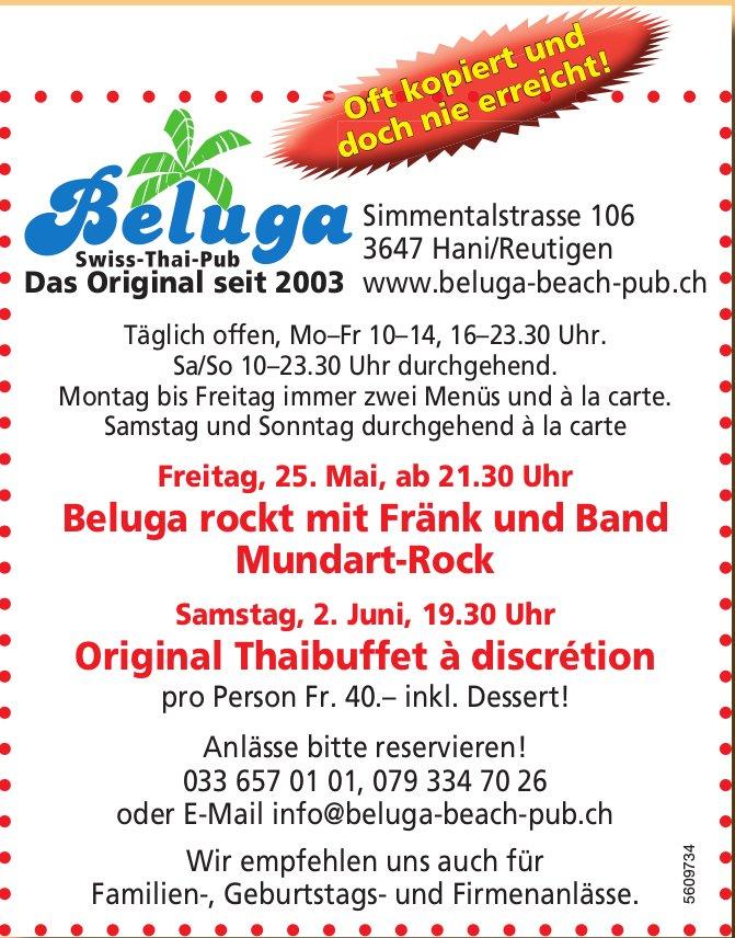 Beluga Swiss-Thai-Pub - Programm Und Events