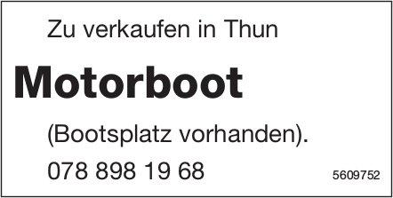 Motorboot zu verkaufen in Thun