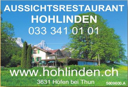 AUSSICHTSRESTAURANT HOHLINDEN