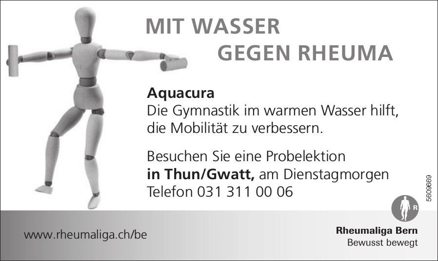 Rheumaliga Bern - Aquacura: Besuchen Sie eine Probelektion in Thun/Gwatt.