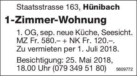 1-Zimmer-Wohnung in Hünibach zu vermieten