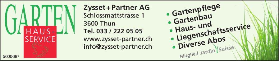 Zysset + Partner AG - Garten Hausservice