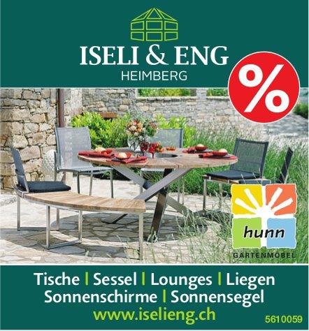 ISELI & ENG HEIMBERG - % Tische, Sessel, Lounges, Liegen, uvm