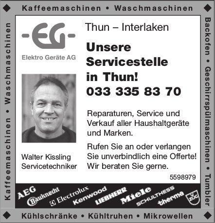 Elektro Geräte AG, Thun / Interlaken