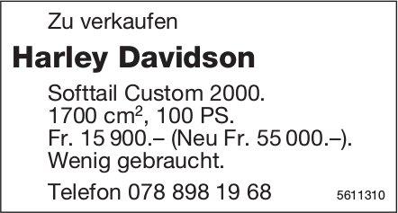 Harley Davidson Softtail Custom 2000 zu verkaufen