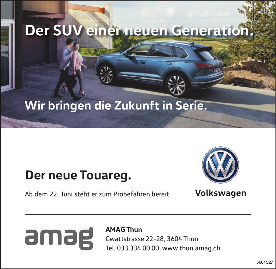 AMAG Thun - der neue VW Touareg