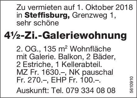 4½-Zi.-Galeriewohnung in Steffisburg zu vermieten