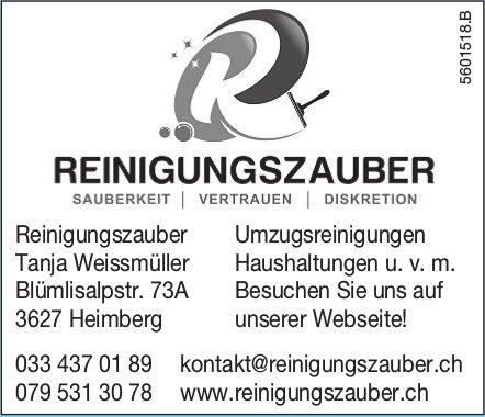 Reinigungszauber Tanja Weissmüller - Umzugsreinigungen Haushaltungen u. v. m.