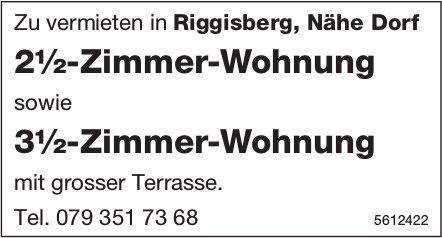 2½-Zimmer-Wohnung sowie 3½-Zimmer-Wohnung Zu vermieten in Riggisberg, Nähe Dorf zu vermieten